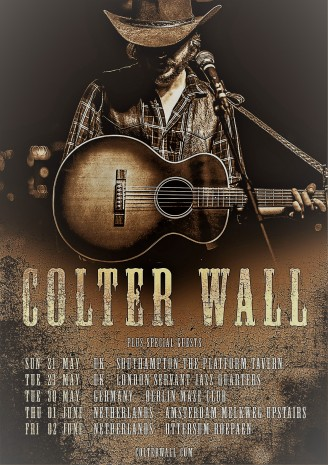 Colter Wall Poster